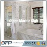 Mattonelle di pavimentazione delle lastre del marmo del travertino del Onyx che pavimentano la stanza da bagno di marmo del Brown del rivestimento murale
