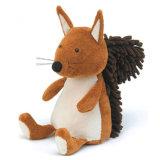 Giocattolo della peluche dello scoiattolo farcito abitudine
