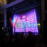 Pantalla de visualización de interior a todo color de LED de la venta caliente P7.62