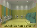 이음쇠 HPL 널을%s 가진 화장실 칸막이실 분할이 다채롭고 사랑스러운 작풍에 의하여 농담을 한다