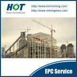 Service de CPE pour l'usine de lavage de charbon