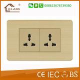 Soquete de parede do USB da boa qualidade da fonte da fábrica de China