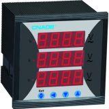 Dreiphasenvoltmeter mit Warnungs-Größe 96*96 AC500V
