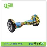 10-дюймовых самобалансировани электрического самоката Bluetooth 2 колесо Hoverboard для детей и взрослых