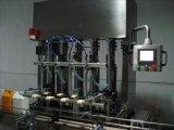 Flaschen-reinigende Füllmaschine-Zeile beenden