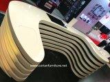 2017의 새로운 디자인 현대 안녕 방수포 외투 수신 카운터 책상