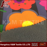 Crepe estampé poly avec le tissu de Softshell de polyester de TPU avec de l'ouatine