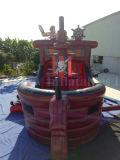 Casa inflable de la despedida de la nave de pirata/de la nave de pirata