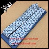 Laço impresso de seda Handmade da garganta da forma de Shengzhou 100% para homens