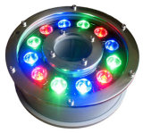 Indicatore luminoso subacqueo esterno della fontana dell'indicatore luminoso DMX LED del punto