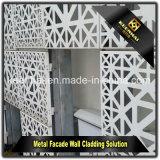 Bâtiment moderne de l'extérieur décoratif revêtement de façade en aluminium
