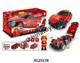 Nuova automobile della rotella di tatto del metallo con l'automobile del giocattolo del regalo dei bambini di musica chiara (9125178)