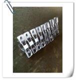 Rolamento branco do bloco de descanso do aço inoxidável de carcaça de rolamento plástico F208-210