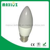 Lamp van de melkachtige LEIDENE van de Helderheid van de Dekking Hoge Bol van de Kaars de Lichte 5W