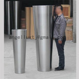 Hecho en maceta redonda del acero inoxidable del precio de fábrica de China 304