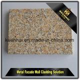 Marbleizing 알루미늄 정면은 알루미늄 클래딩 가격을 깐다