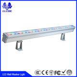 Luz ao ar livre do projeto da luz 24W da arruela da parede do diodo emissor de luz da alta qualidade IP65 12-24V 12V 24W