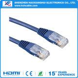 OEM High Speed Cat 6 RJ45 Ethernet LAN Cabo de rede para PC Laptop