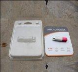 Clear PET Blister Packing Box com cartão impresso para produtos eletrônicos