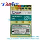 Dental Gapadent original papel absorbente de puntos de material dental
