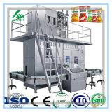 Máquina de rellenar líquida del cartón de papel del rectángulo de la leche aséptica de la lechería