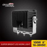 """100W 6 """" indicatore luminoso resistente del lavoro di nuovo disegno LED"""