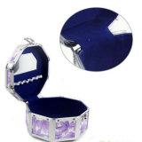 Пурпуровый случай коробки состава восьмиугольника картины лилий Hx-Hzx045