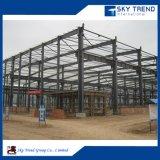 Constructions préfabriquées reconnaissantes d'atelier de bâti de structure métallique