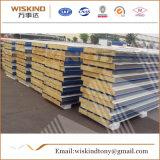 El panel de emparedado de aluminio de la azotea a prueba de calor ligera/los paneles de acero del compuesto de las lanas del panel/de roca