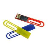 Mini bâton du plastique USB Pendrive d'instantané de mémoire du clip USB