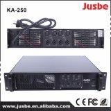 Amplificador de varios canales de Digitaces DSP del canal Ka-250 4