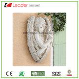 Het grote Standbeeld van het Beeldhouwwerk van de Tuin van de Engel van de Hars Vreedzame voor de Decoratie van het Gazon en van de Tuin