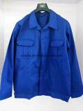 Изготовление длинней Sleeved куртки, опционной ткани, типа