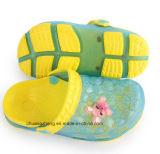 Милое выскальзование Clogs шаржа пляжа Shos сада ребенка тапочек сандалий лета малышей дальше