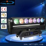 Лампа Osram19*12W 4-в-1 RGBW LED перемещение головки света DJ освещения