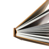 Livre à couverture rigide de la société de haute qualité avec logo personnalisé de l'impression