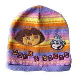 Jacquard che lavora a maglia il cappello di Earflag (JRK189)