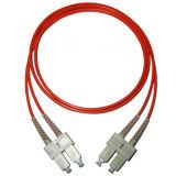 Многомодовый кабель питания исправлений (SC-SC-3М-ММ-DX-PC)