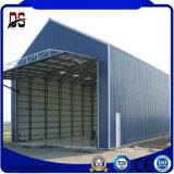 Hangar de acero prefabricado del plano de la estructura de acero de la luz de los edificios