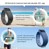 De Slimme Armband van uitstekende kwaliteit van de Drijver van de Activiteit met het Tarief van het Hart (ID105)