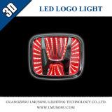 Lmusonu 3D LED Firmenzeichen-Abzeichen-Licht für Honda