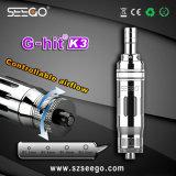 Seego G-Ha colpito l'atomizzatore durevole ed enorme di K3 del vapore E della sigaretta per olio normale