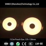 5 años de la garantía de lámpara ligera ahuecada viruta de Nichia Dimmable LED abajo