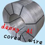 알루미늄에 의하여 응어리를 빼는 철사, Alca 또는 알루미늄 칼슘에 의하여 응어리를 빼는 철사
