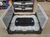 Escaninhos plásticos resistentes da pálete com tampas