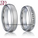 De Trouwring van het Paar van de Ring van de Belofte van de Liefde van het Staal van het Titanium van de hoogste Kwaliteit