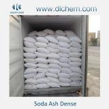 cinza de soda 99.2%Min densa/No. 497-19-8 do CAS carbonato de sódio