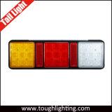 Lampe combinée d'inverse d'arrière de spire d'arrêt de camion de cosse de DEL 3