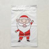 Enveloppes en plastique de empaquetage de courier de sac estampées par cadeau personnalisable