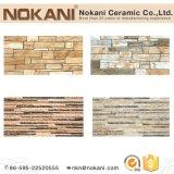 Inkjet Azulejos de pared de cerámica para chimenea Stone Look Wall Tile